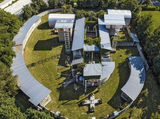 Cornelius Kolig – Organic, installation view