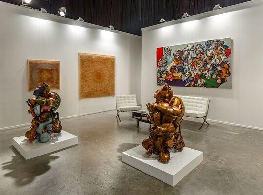 Leila Heller Gallery at Art Dubai 2016, installation view