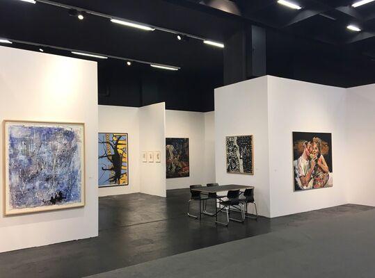 Jahn und Jahn at Art Cologne 2018, installation view