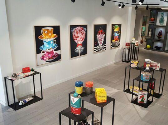 Daryl Gortner & Karen Shapiro, installation view