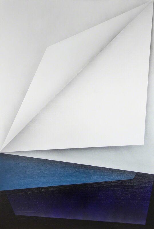 Ira Svobodová, 'Papercut 32', 2015, Painting, Acrylic on linen, River