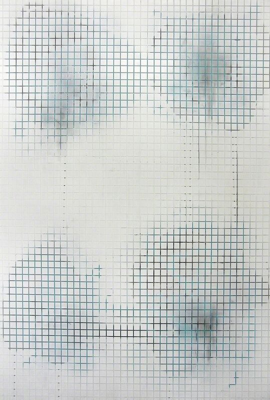 Daniel Weissbach, 'Stelle_18', 2012, Painting, Acrylic and lacquer on canvas, Ruttkowski;68