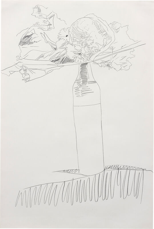 Andy Warhol, 'Flower Drawing', 1974, Graphite on paper, Phillips