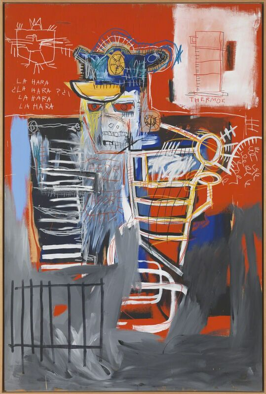 Jean-Michel Basquiat, 'La Hara', 1981, Painting, Acrylic and oil paintstick on canvas, Gagosian