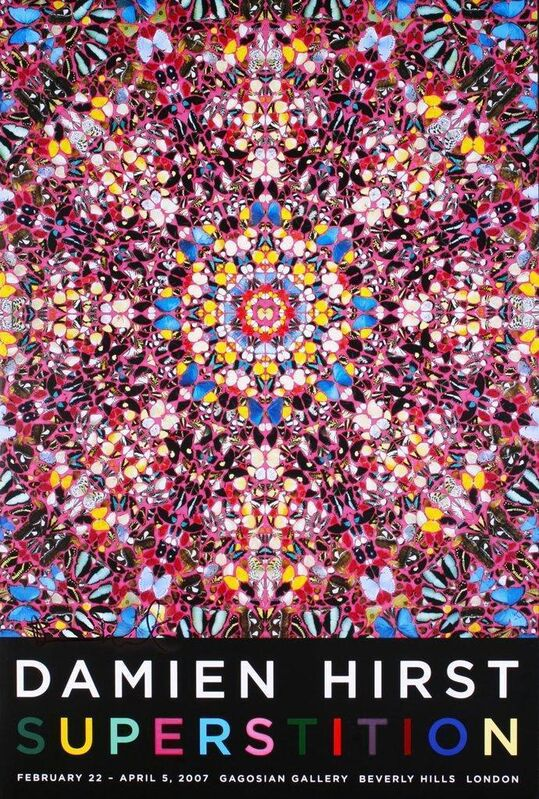 Damien Hirst, 'Superstition', 2007, Posters, Offset lithograph in colours, artrepublic
