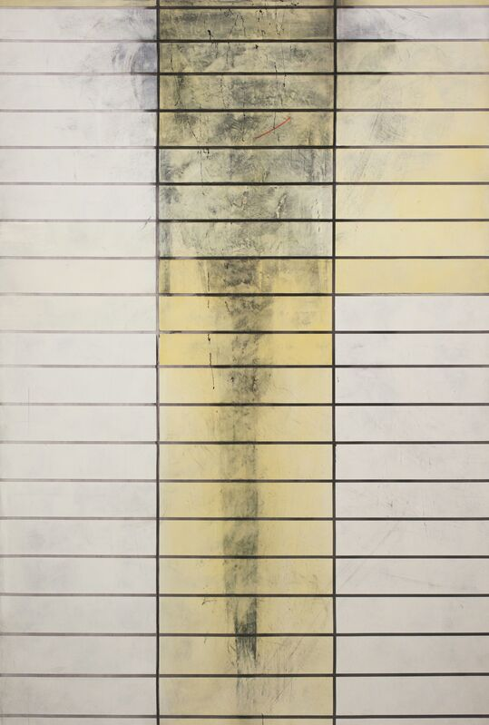 Daniel Weissbach, 'Stelle #15', 2012, Painting, Acrylic and lacquer on canvas, Ruttkowski;68
