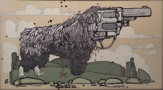 Nicholas Di Genova, 'Feathered Six-Shooter', 2006
