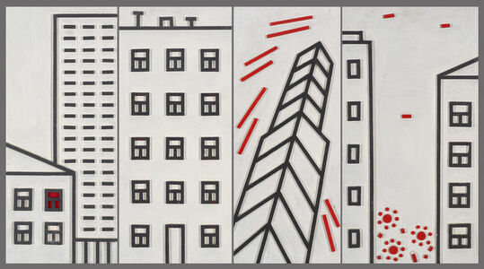 Igor Shelkovsky, 'Architectural composition - 1', 2009