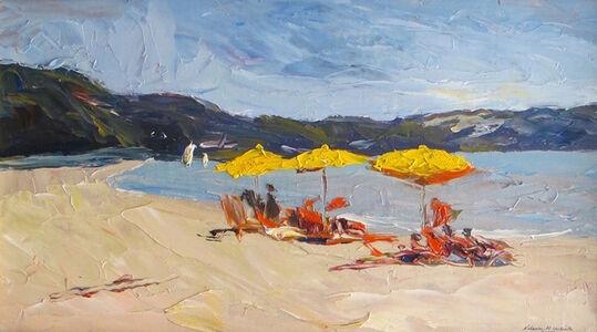 Nelson White, 'Crescent Beach Shelter Island', 2014