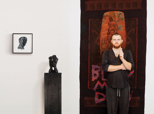 Anima Mundi at London Art Fair 2020, installation view