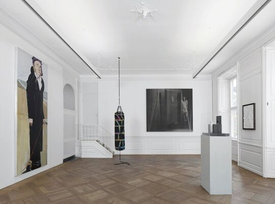 Shadowed Forms | Curated by Kevin Francis Gray, installation view