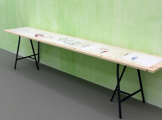 "30: ""Untitled, 1989"", installation view"