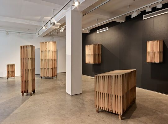 Sarah Myerscough Gallery at Design Miami/ Basel 2015, installation view