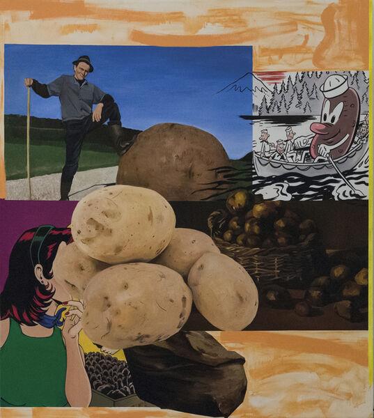 Liu Ding, 'Potato', 2016