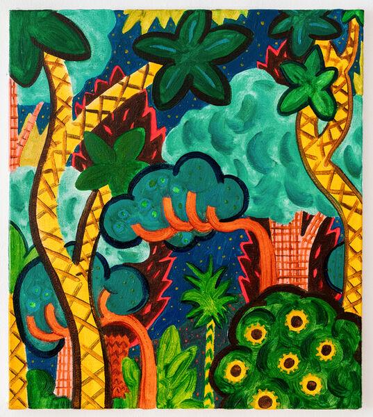 André Ethier, 'Untitled (Pattern Jungle #2)', 2017