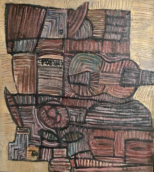 """José Gurvich, '""""Poesía""""', 1960"""