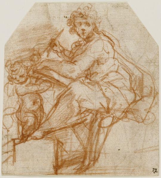 Correggio, 'Saint Matthew', 1523