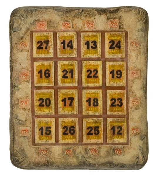 George Widener, 'Magic Square', 2009