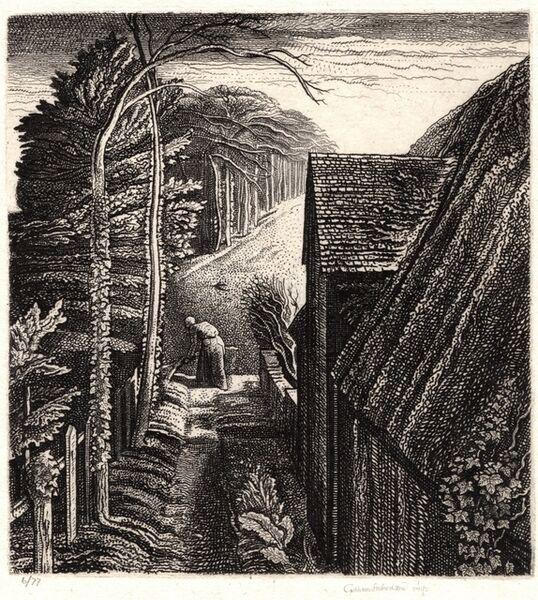 Graham Vivien Sutherland, 'Hanger Hill', 1929