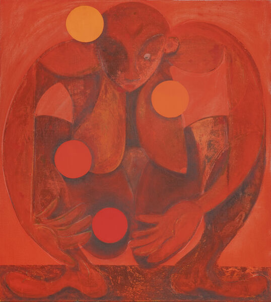 Antone Könst, 'Juggler (red)', 2019
