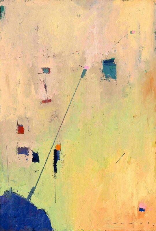William Wray, 'Satelite', 2017, Painting, Oil on panel framed, Vault Gallery