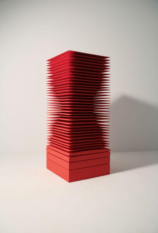 Masayuki Tsubota, 'the layer of self_vfm5', 2014, Sculpture, Gesso, pigment, acrylic on basswood, Gallery LVS