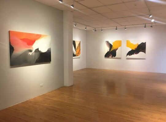 Ebb and Flow, installation view