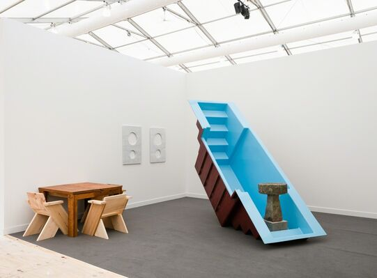 Kayne Griffin Corcoran at Frieze New York 2018, installation view