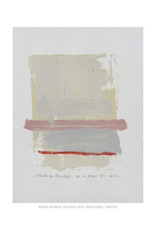 Rebeca Mendoza, 'Untitled', 2014, Mixed Media, Mixed media on paper, Artemisa