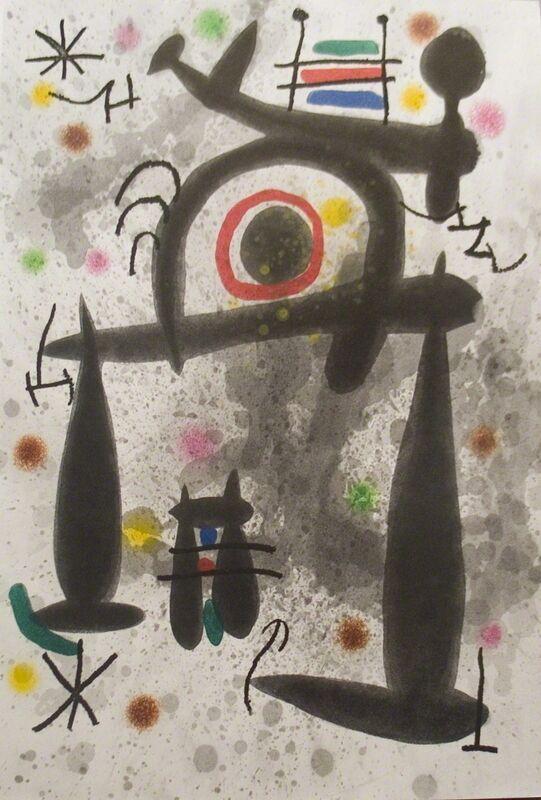 Joan Miró, 'Le Miroir de l'Homme par les Betes', 1972, Print, Etching, ArtWise