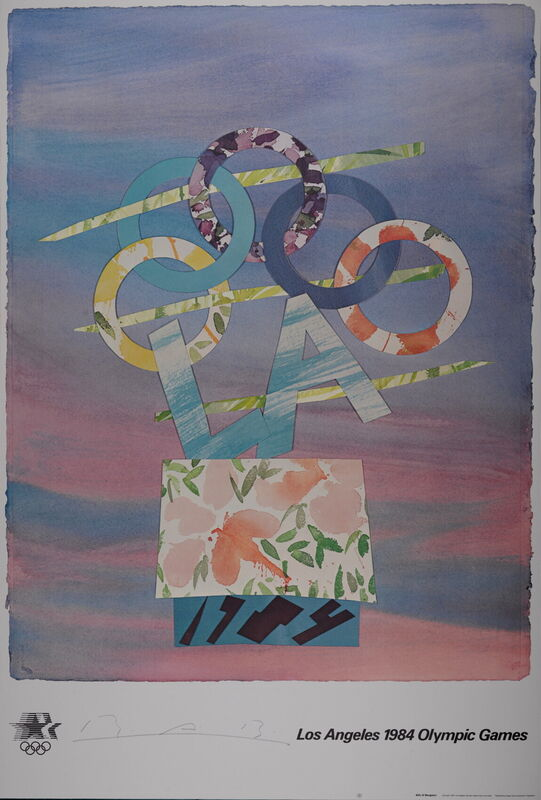 Billy Al Bengston, 'Los Angeles Olympic Games, 1984 - Hand signed offset lithograph', 1984, Print, Lithograph, AFL