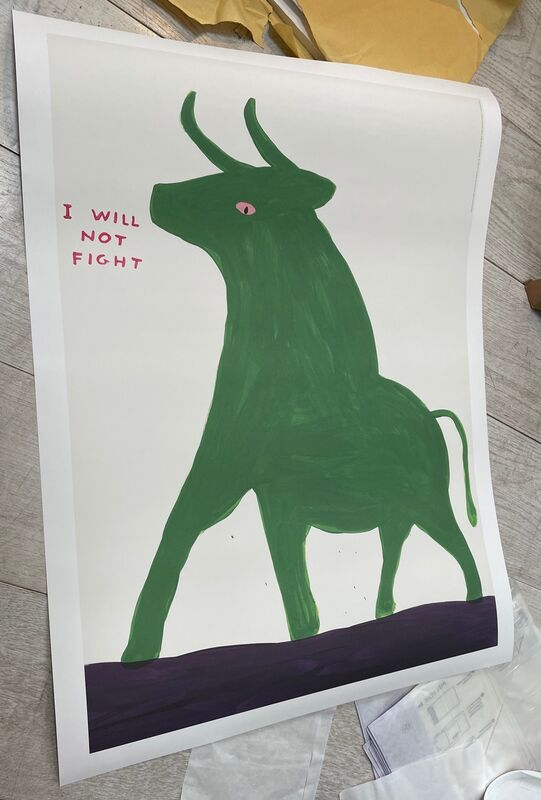 David Shrigley, 'Animal Series (Set of 4)', 2020, Posters, Offset lithograph exhibition poster print, Artsy x Capsule Auctions
