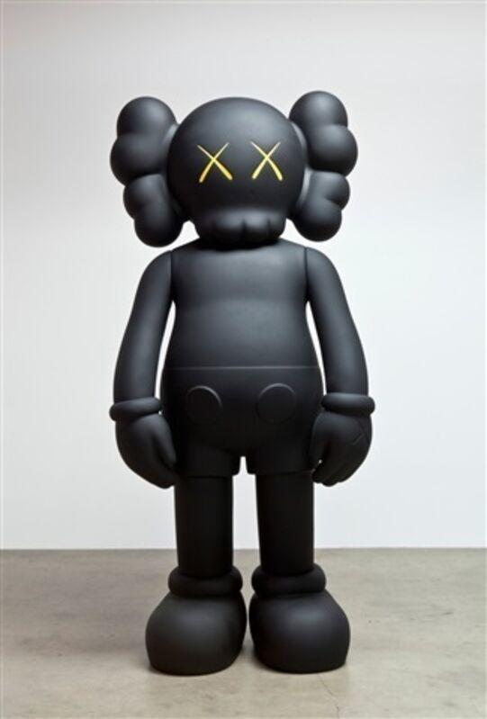 KAWS, '4 Ft Companion (Black)', 2007, Sculpture, Cast Vinyl, Remes Advisory