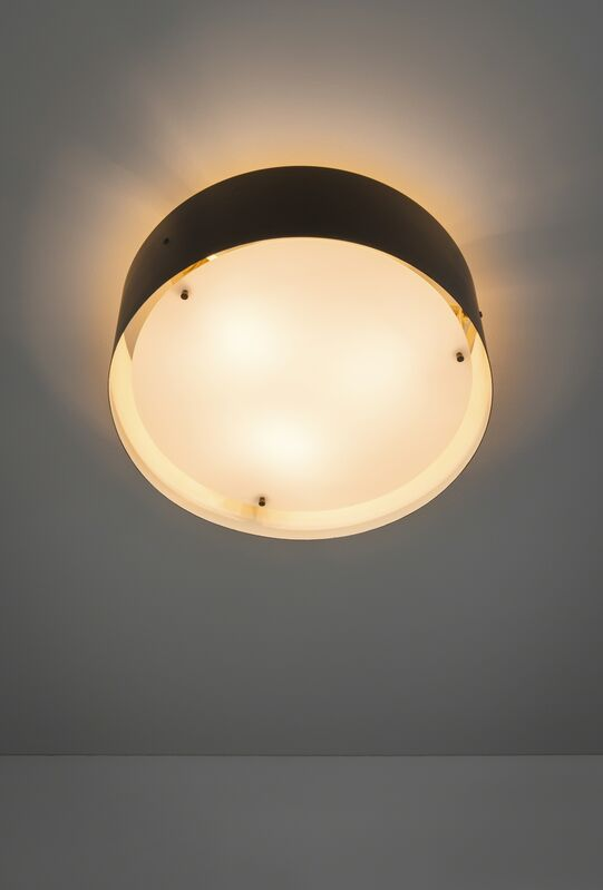 Jacques Biny, 'Ceiling light 410', 1958, Design/Decorative Art, Lacquered metal, brass and Perspex, Galerie Pascal Cuisinier