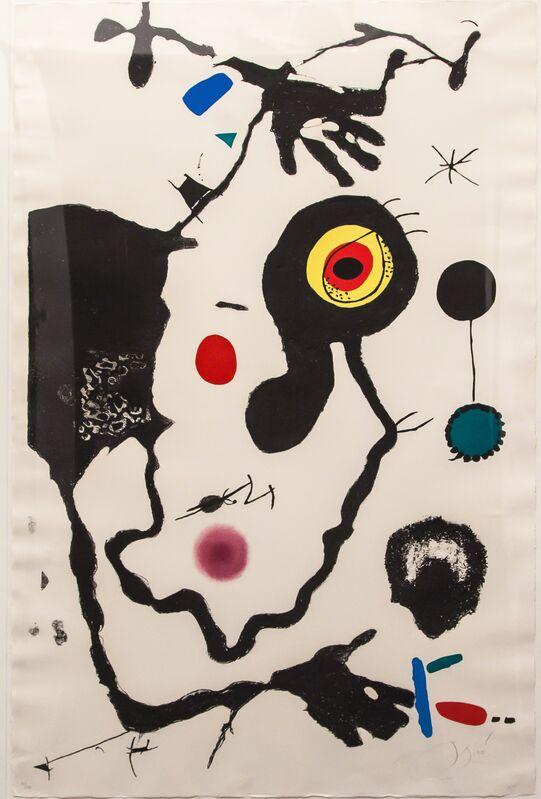Joan Miró, 'Barcelona (Cramer BKS. 173)', 1973, Print, Aquatint, etching and lithograph in colors, Artrust