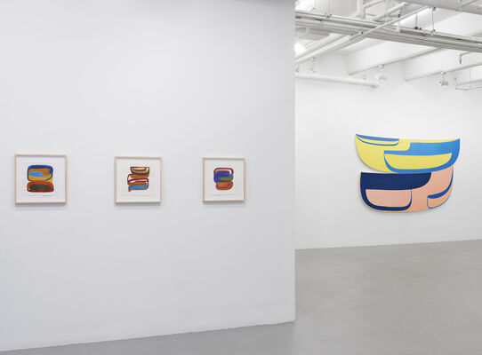Joanna Pousette-Dart, installation view