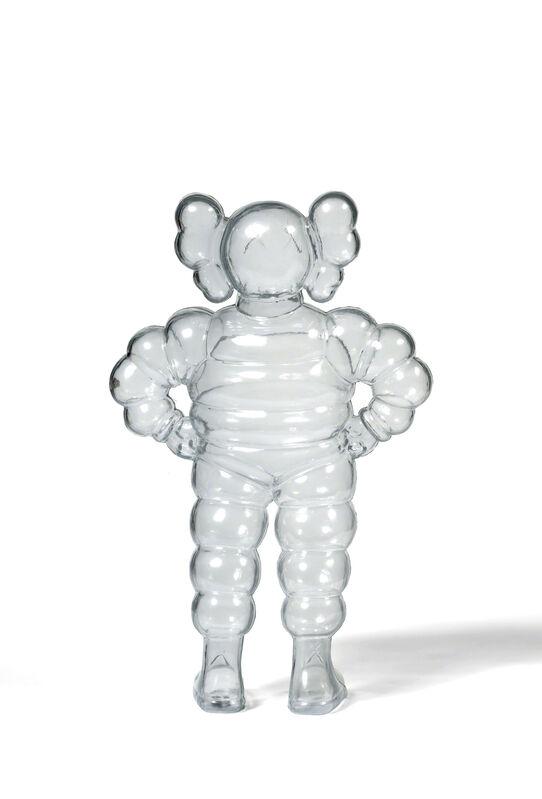KAWS, 'CHUM (Clear)', 2002, Sculpture, Cast vinyl, DIGARD AUCTION