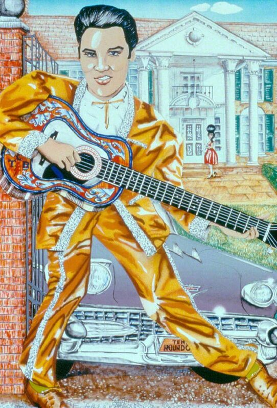 Red Grooms, 'Elvis', 1987, Print, Lithograph, SPONDER GALLERY