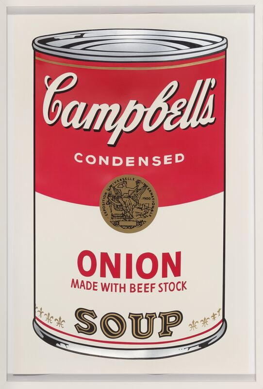 Andy Warhol, 'Onion, from Campbell's Soup I', 1968, Print, Screenprint in colors, on smooth wove paper, Heritage Auctions
