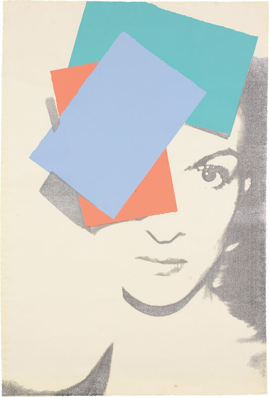 Andy Warhol, 'Paloma Picasso, from America's Hommage à Picasso', 1975, Print, Screenprint in colors, on Arches watercolor paper, the full sheet., Phillips