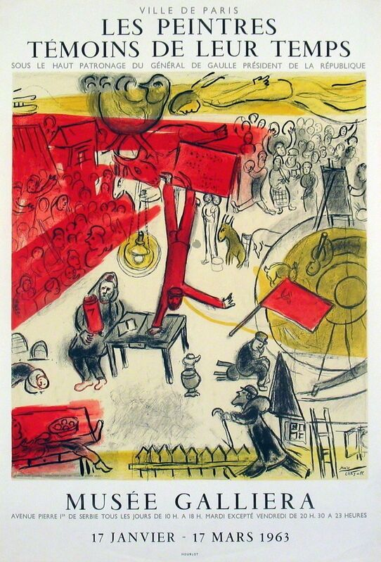 Marc Chagall, 'The Revolution', 1963, Print, Lithograph, ArtWise