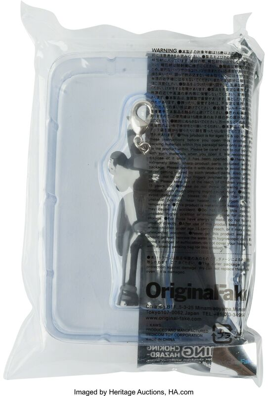 KAWS, 'Accomplice (black), keychain', 2009, Other, Painted cast vinyl, Heritage Auctions