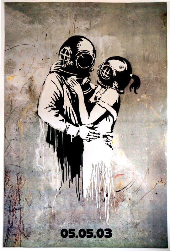 Banksy, 'Think Tank', 2003, Posters, Offset lithograph, EHC Fine Art Gallery Auction