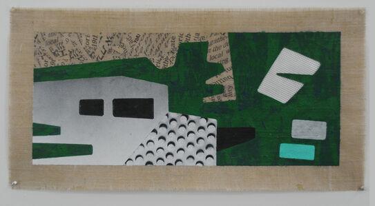 Zigi Ben-Haim, 'Behind the Green Wall', 2016