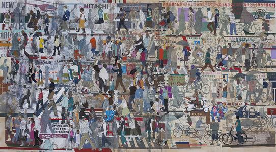 Wang Qing 王青, 'Coming & Going - New York & Shanghai', 2009