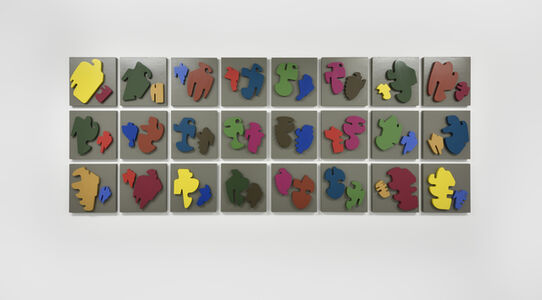 Allan McCollum, 'The Shapes Project: Collection of Twenty-Four Perfect Couples', 2016