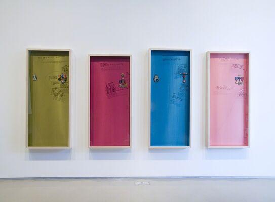 Lombard Freid Gallery: Michael Rakowitz: The Breakup, installation view