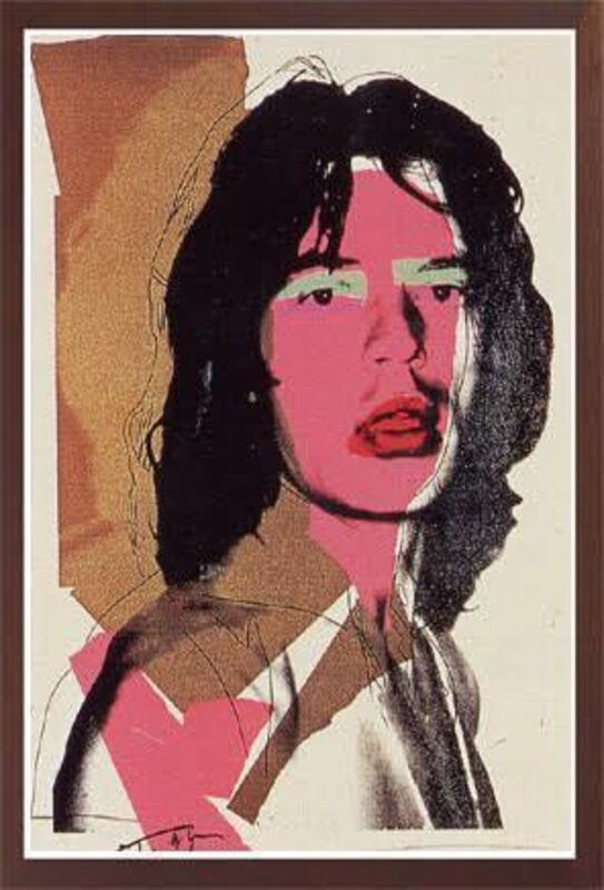 Andy Warhol, 'JAGGER FS II.143', 1975, Print, SCREENPRINT ON ARCHES AQUARELLE PAPER, Robin Rile Fine Art