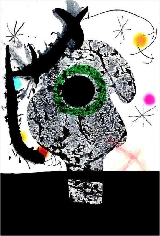 Joan Miró, 'Polypheme', 1968, Mixed Media, Etching and Aquatint with Carborundum, Galerie Lareuse