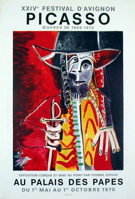 Pablo Picasso, 'Palais Des Papes', 1970, Print, Lithograph, ArtWise